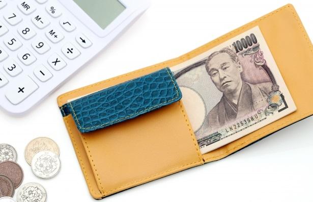 4万円二つ折り財布